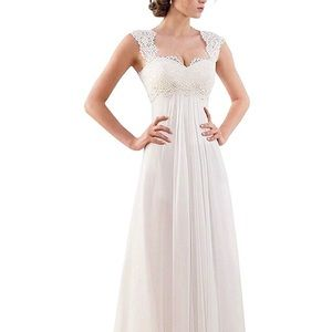 New with tags! Abao white Wedding Dress